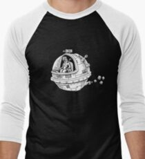 Yeti in Space Men's Baseball ¾ T-Shirt