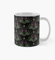 "Art deco ornament ""Night flower"" Mug"