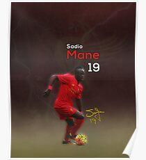 Sadio Mane 19  Poster