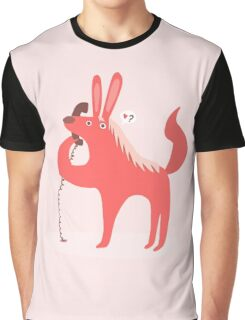 Horse Bunny asking for love Graphic T-Shirt
