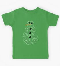 Chemically accurate snowman Christmas jumper Kids Tee