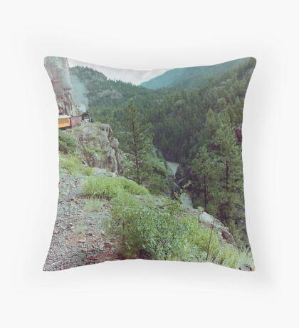 Durango to Silverton Narrow Gauge Railroad, Colorado, USA Throw Pillow