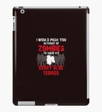 Front Of Zombies Kerry Blue Terrier iPad Case/Skin