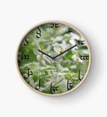 Tengwar Clock for Tolkien's Memory Clock