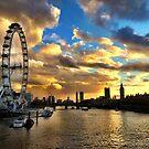 London by irishkiwipcards