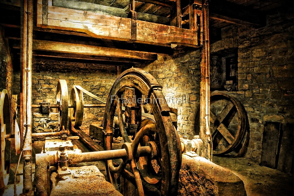 Water mill by FrauleinimStall