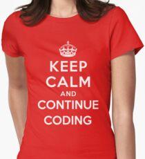 Keep Calm Continue Coding T-Shirt