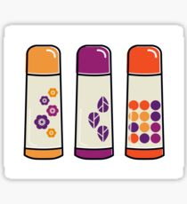 For design lovers : Original hand-drawn Thermo bottles Sticker