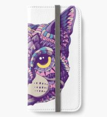 Cat Head (Color Version) iPhone Wallet/Case/Skin