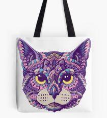 Cat Head (Color Version) Tote Bag