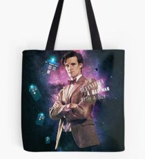 I m definitely a mad man with a box Tote Bag