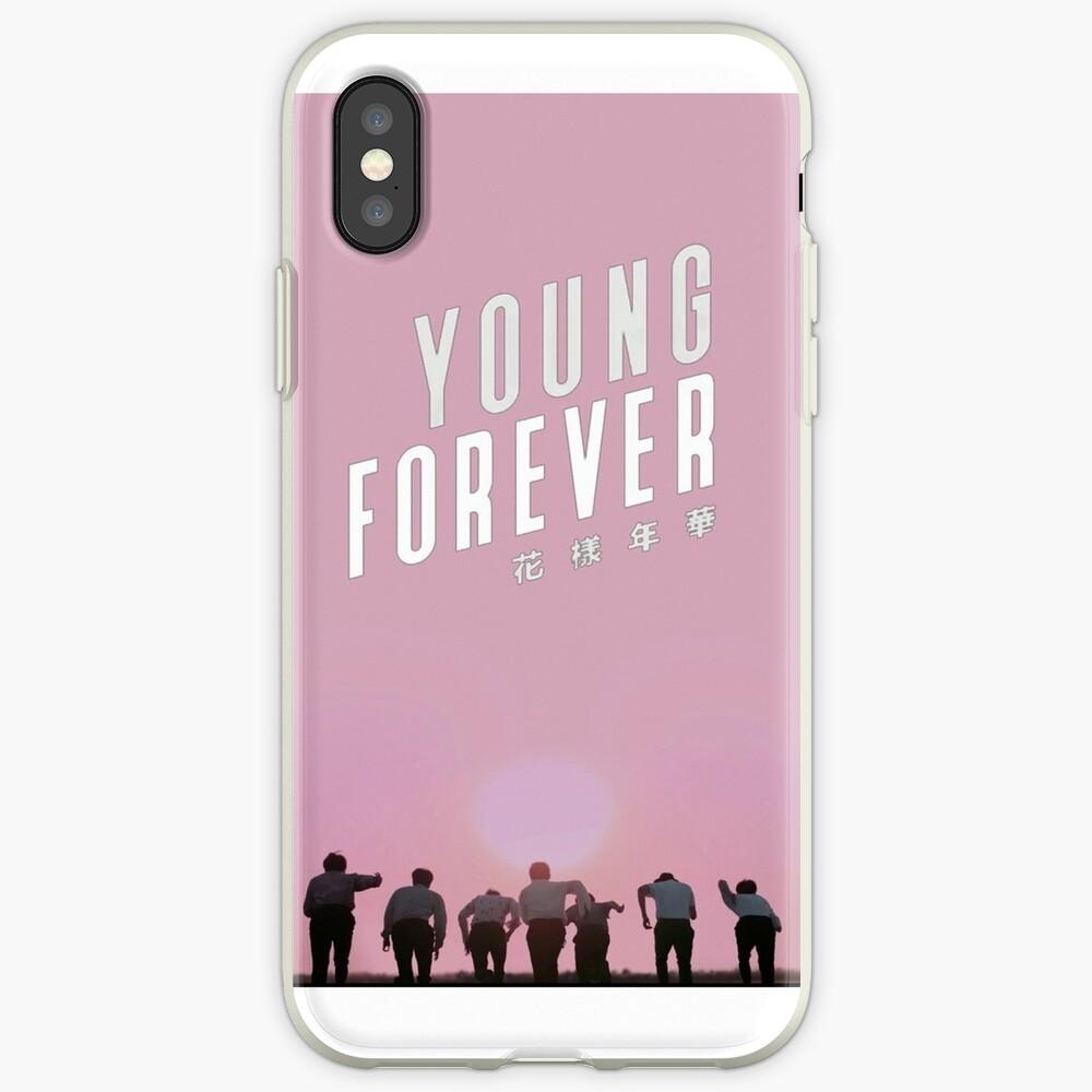 Bangtan Boys Young Forever Vinilos y fundas para iPhone