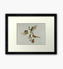 Two Turtle Doves Framed Print