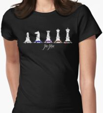 Human Chess Women's Fitted T-Shirt