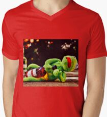 Don't Drink and Drive 2 Mens V-Neck T-Shirt