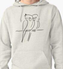 Parrots in Love :) Pullover Hoodie