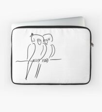 Parrots in Love :) Laptop Sleeve
