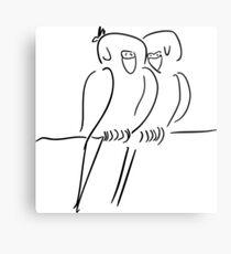 Parrots in Love :) Metal Print