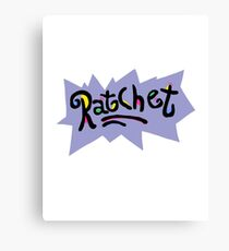 Ratchet - Rugrats Parody Canvas Print