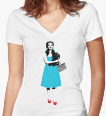 Dorothy - Wizard of Oz Women's Fitted V-Neck T-Shirt