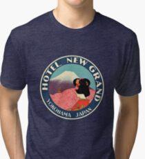 Vintage Travel - JAPAN Tri-blend T-Shirt
