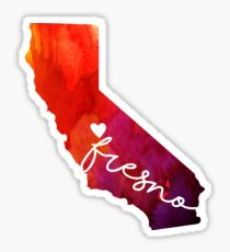 Fresno Sticker