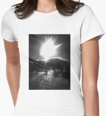 The Mountain Women's Fitted T-Shirt