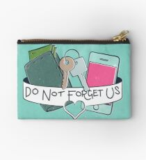 Do Not Forget Us  Studio Pouch