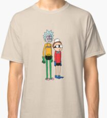 Mermaid Rick and Barnacle Morty Classic T-Shirt