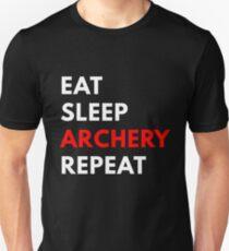 Eat Sleep Archery Repeat T-Shirt
