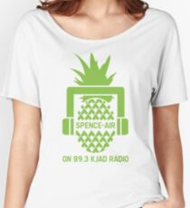 """""""Spence-Air"""" Psych Radio Show w/ Shawn Spencer Women's Relaxed Fit T-Shirt"""