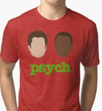 Faces of Psych Tri-blend T-Shirt