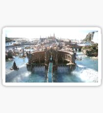 Final Fantasy City Sticker