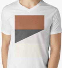 Minimalist We Bare Bears 2.0 (Larger) Men's V-Neck T-Shirt