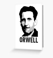 Orwell Greeting Card