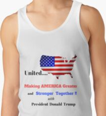 UNITED AMERICA GREATER STRONGER TOGETHER T-SHIRT Tank Top
