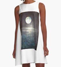 Silvery Moon A-Line Dress