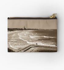 Tynemouth Beach Zipper Pouch