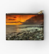 Steephill Cove Sunset Studio Pouch