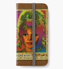 Brigitte Bardot iPhone Wallet