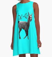 Dali Llama A-Line Dress