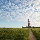Happisburgh Lighthouse, Norfolk, UK. by Graham Gilmore