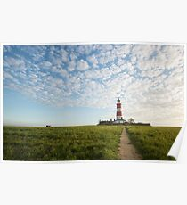 Happisburgh Lighthouse, Norfolk, UK. Poster