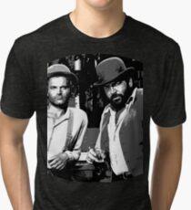 Terence Hill & Bud Spencer - Italian actors Tri-blend T-Shirt