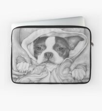 Little Paws in Strong Hands Laptop Sleeve