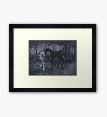 The Thestral Framed Print