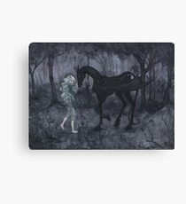 The Thestral Canvas Print