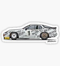P 924 Carrera GTP/GTR Le Mans Sticker