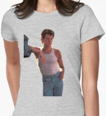Footloose - Kevin Bacon Womens Fitted T-Shirt