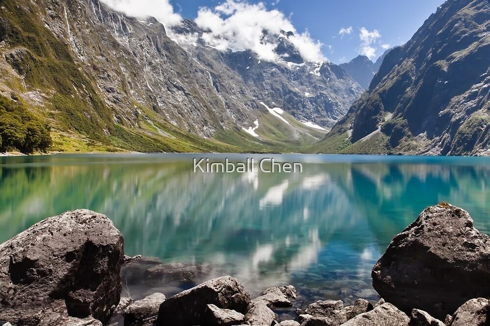 Quot Lake Marian Fiordland New Zealand Quot By Kimball Chen